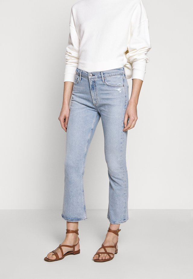 DEMY CROPPED  - Flared Jeans - igne
