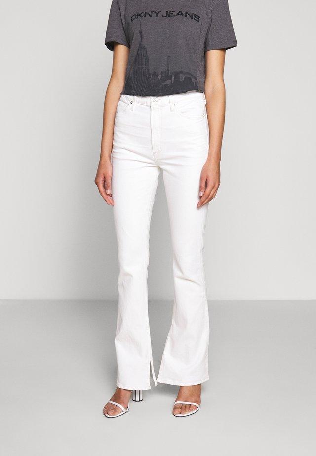 GEORGIA HIGH RISE - Jeans bootcut - zen