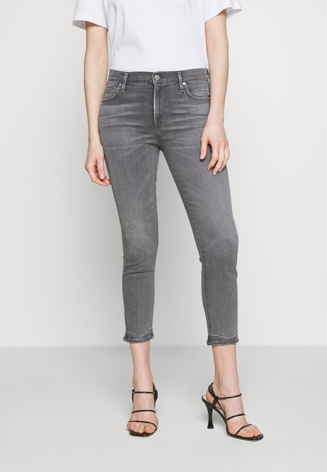 ROCKET CROP MID RISE - Jeans Skinny Fit - tance