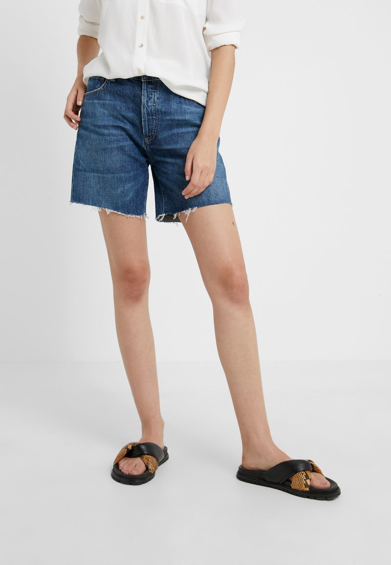 Citizens of Humanity - BAILEY  - Shorts di jeans - blue rose