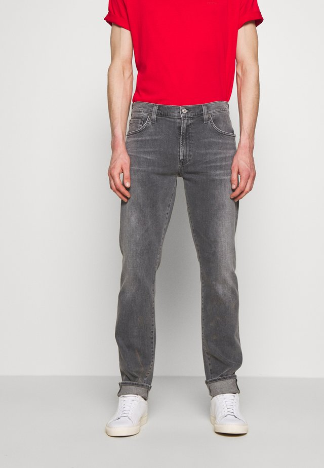 THE BOWERY - Jeans slim fit - carbon