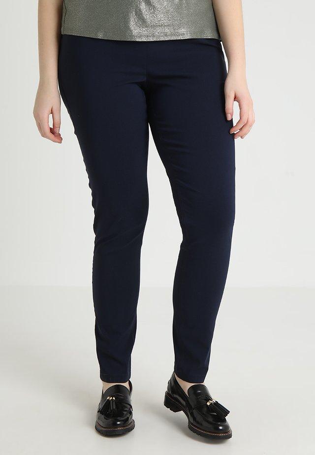 INTEGRATED WAIST - Trousers - dark blue