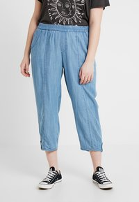 Ciso - LOOSE PANT - Pantaloni - sunbleached denim - 0