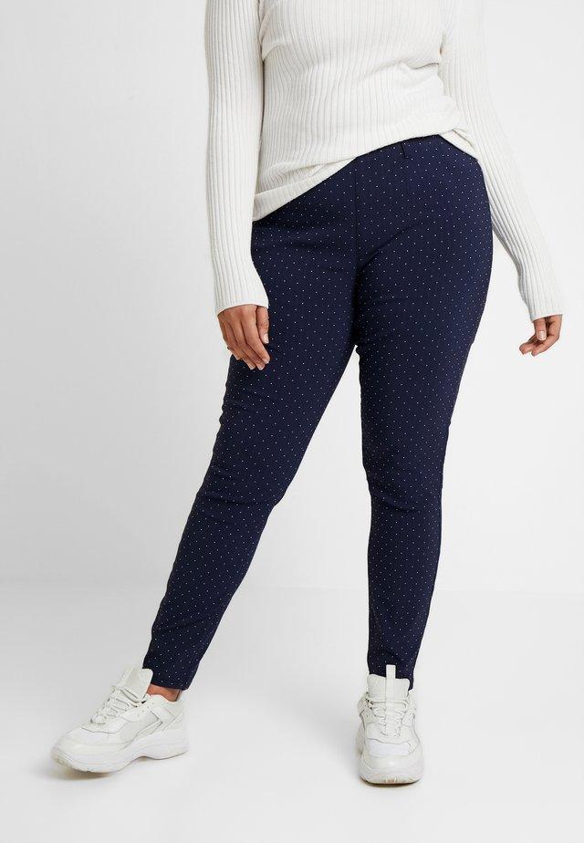 SPOT TROUSER - Trousers - navy