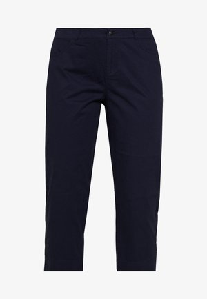 CAPRI WITH BACK POCKETS - Trousers - navy