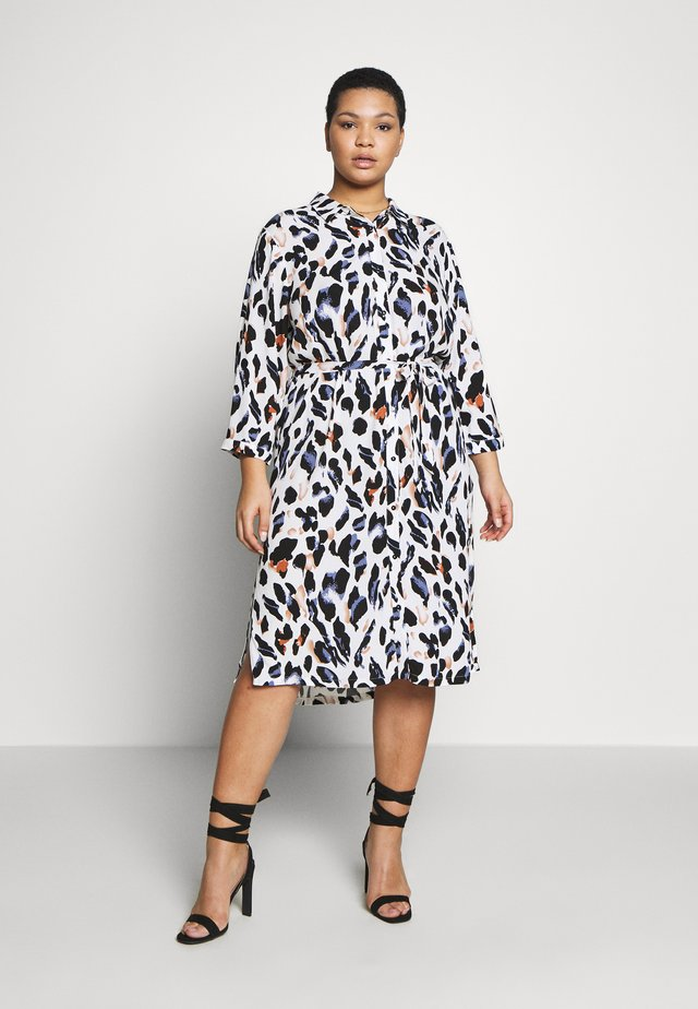 DRESS - Shirt dress - bijou blue