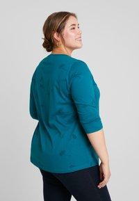 Ciso - TONAL PRINT - Long sleeved top - atlantic green - 2