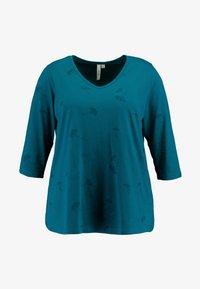 Ciso - TONAL PRINT - Long sleeved top - atlantic green - 3