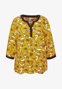 Ciso - BLOUSE WITH FLOWER PRINT - Blus - cheddar/yellow - 3
