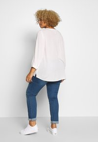 Ciso - BLOUSE WITH CROCHET DETAIL - Blus - offwhite - 2