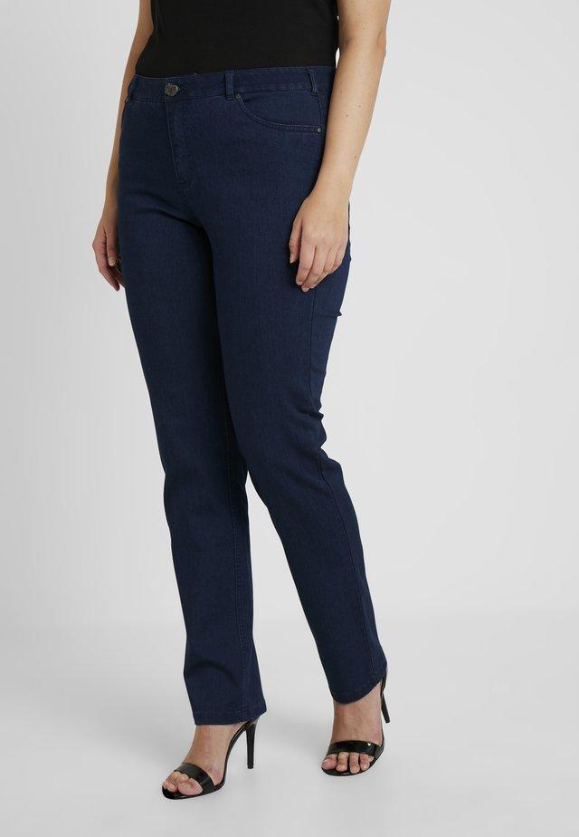PANT - Slim fit jeans - dark-blue denim