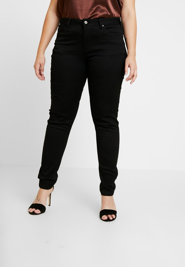 DENIM WITH MORE STRETCH EFFECT - Slim fit jeans - black