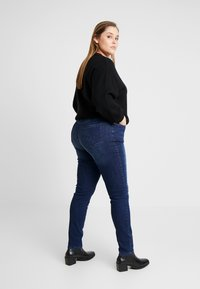 Ciso - AUTHENTIC WASH LEG - Jean slim - dark blue denim - 2