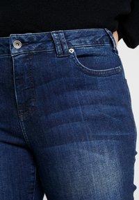 Ciso - AUTHENTIC WASH LEG - Jean slim - dark blue denim - 5