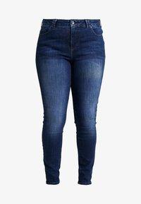 Ciso - AUTHENTIC WASH LEG - Jean slim - dark blue denim - 4