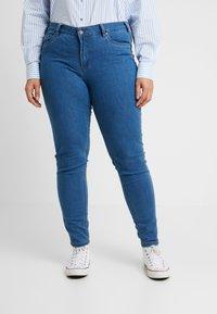 Ciso - BASIC PANT - Džíny Slim Fit - denim blue - 0