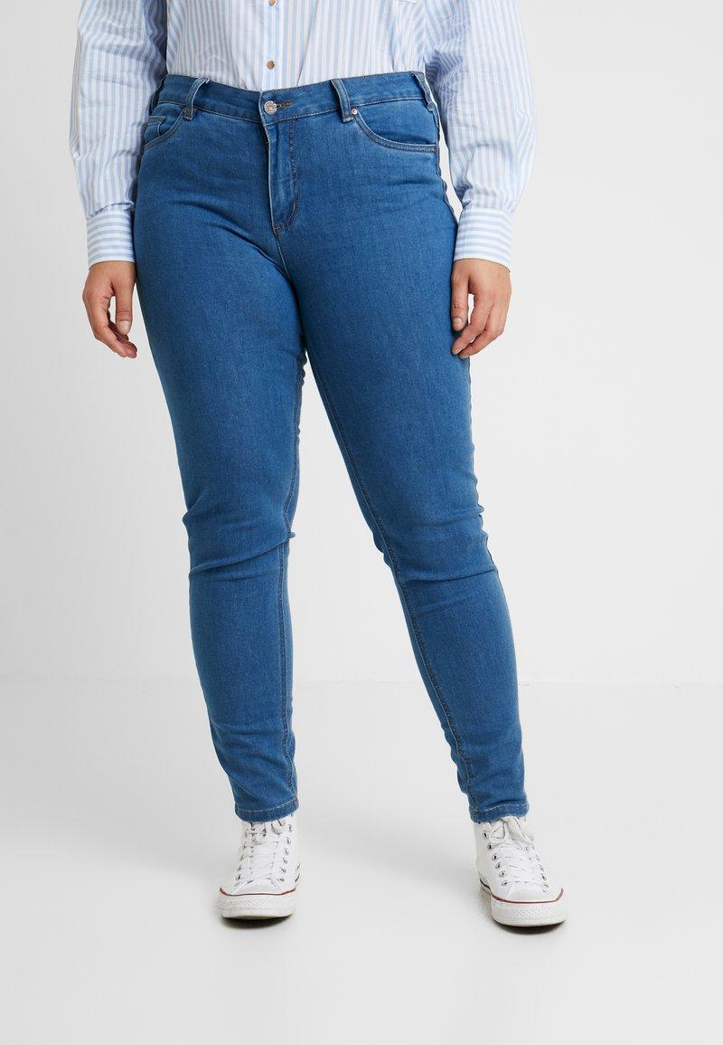Ciso - BASIC PANT - Džíny Slim Fit - denim blue