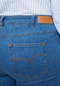 Ciso - BASIC PANT - Džíny Slim Fit - denim blue - 4