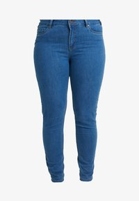 Ciso - BASIC PANT - Džíny Slim Fit - denim blue - 3