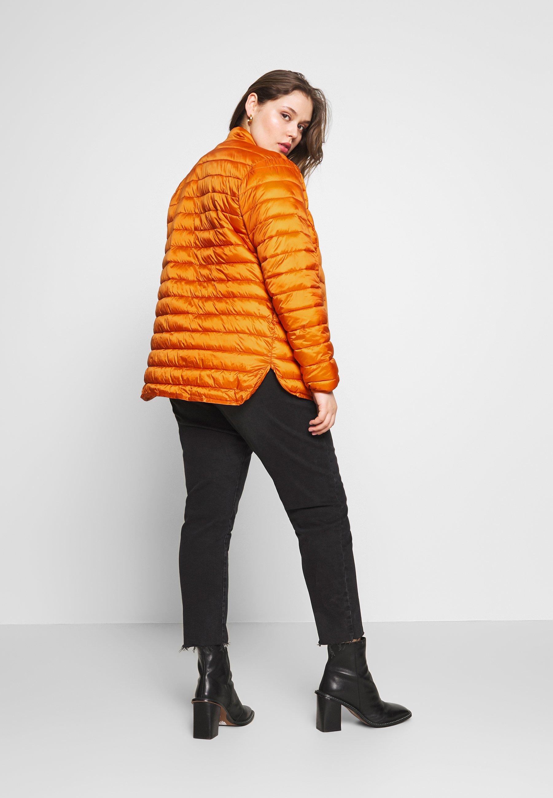Ciso Padded - Allvädersjacka Jaffa Orange