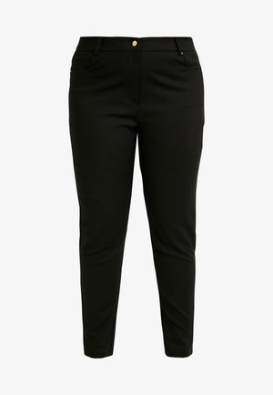 EXCLUSIVE PANT SO CHIC - Kalhoty - black