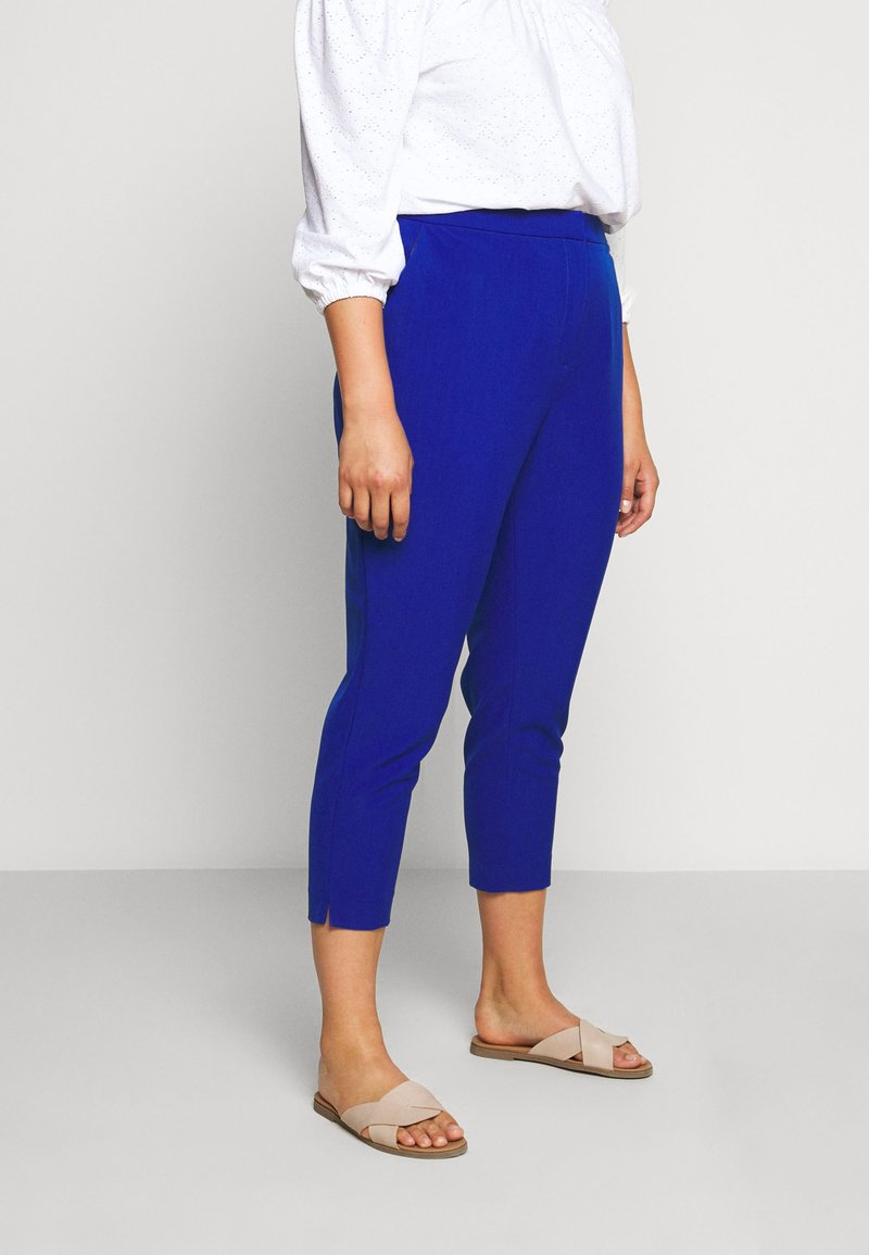 City Chic - PANT ELECTRIC FEELS - Bukse - electric blue
