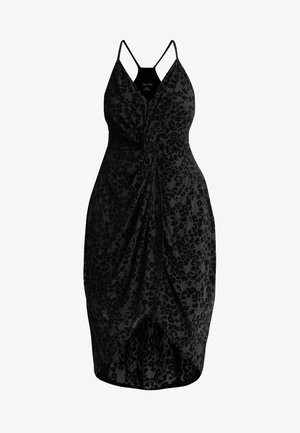 DRESS DRAPE - Day dress - black