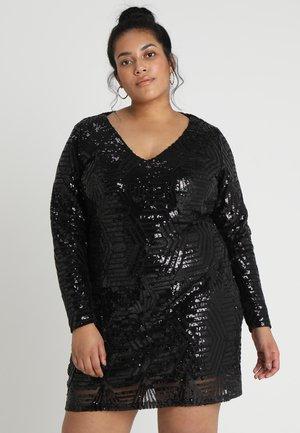 DRESS BRIGHT LIGHTS - Cocktail dress / Party dress - black