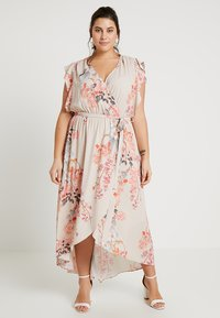 City Chic - FLORAL PRINTED WRAP DRESS - Maxi šaty - sweet delilah - 0