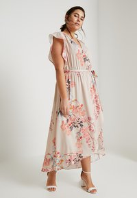 City Chic - FLORAL PRINTED WRAP DRESS - Maxi šaty - sweet delilah - 1