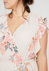 City Chic - FLORAL PRINTED WRAP DRESS - Maxi šaty - sweet delilah - 5