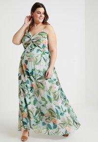 City Chic - FLORAL TWIST FRONT DRESS - Maxi-jurk - multicoloured - 2