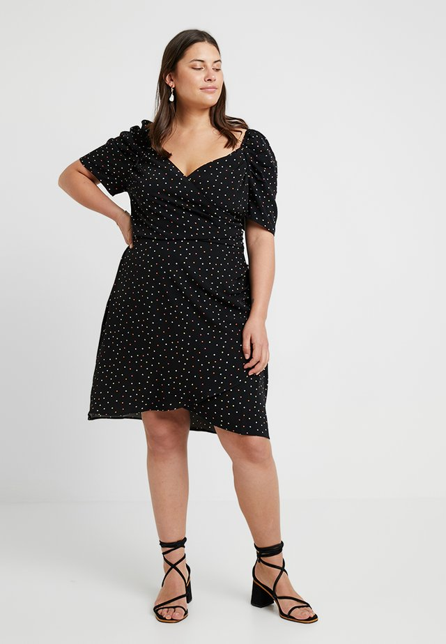 DRESS CONFETTI SPOT - Vardagsklänning - black