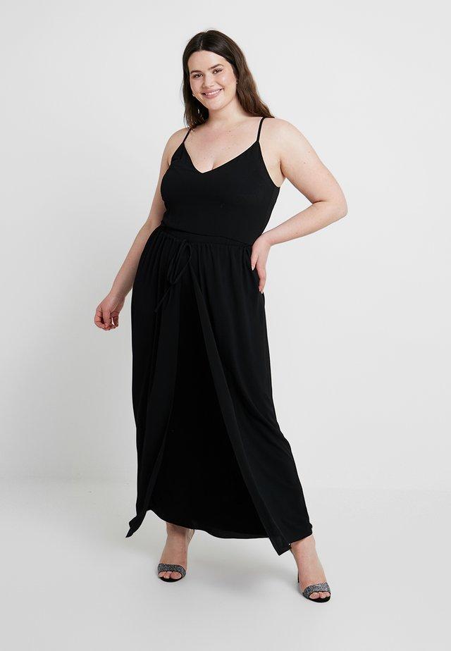MAXI DIVINE OVERLAY - Maxi dress - black