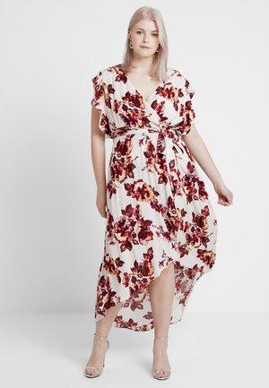 EXCLUSIVE DRESS MONET - Maxi šaty - ivory