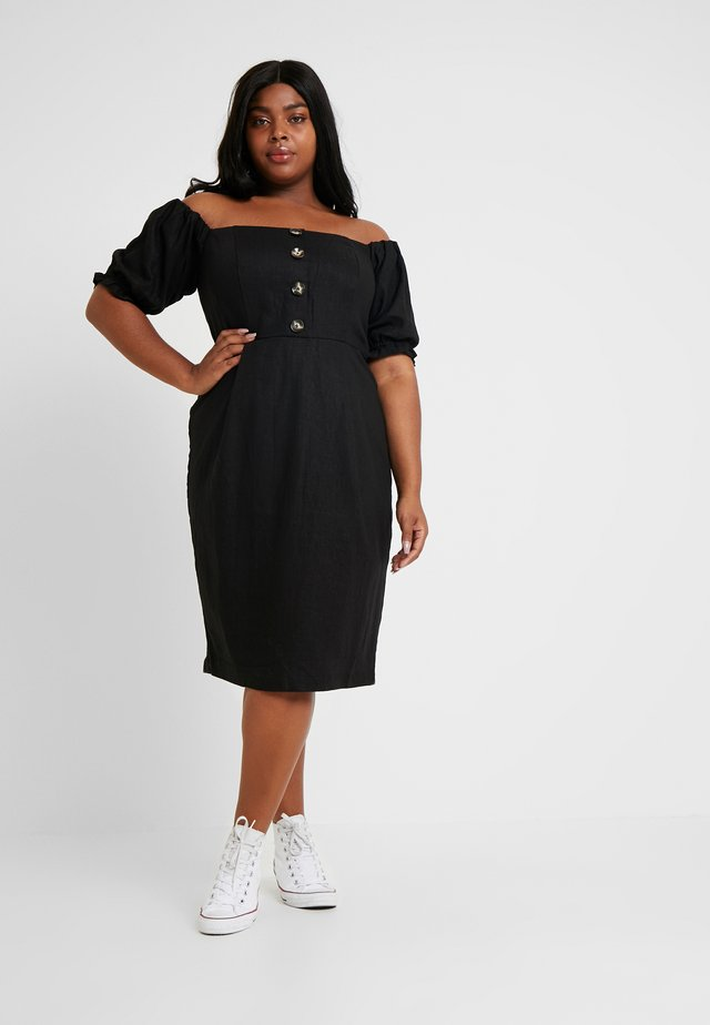 EXCLUSIVE DRESS BUBBLE - Vardagsklänning - black