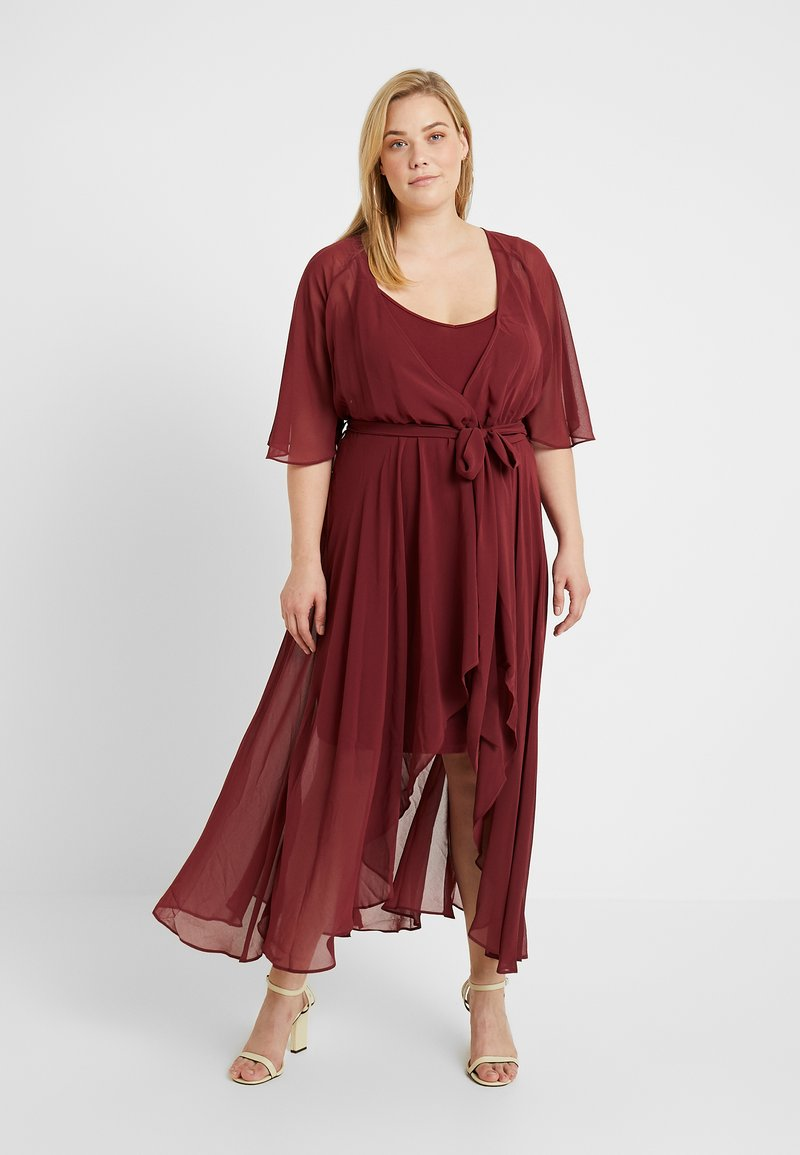 City Chic - EXCLUSIVE MAXI ENTHRAL - Cocktailjurk - nutmeg