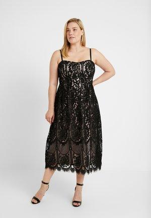 EXCLUSIVE DRESS SWEETY DARLING - Juhlamekko - black