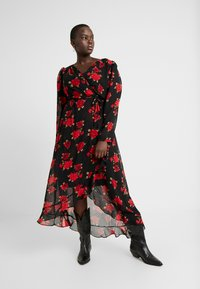 City Chic - EXCLUSIVE DRESS FLORAL - Maxi dress - passion - 0