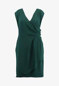 City Chic - EXCLUSIVE DRESS CLASSIC WRAP - Denní šaty - jade - 5