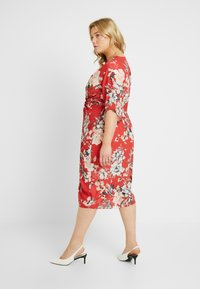 City Chic - EXCLUSIVE DRESS SEDUCTION - Denní šaty - red - 2