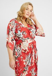 City Chic - EXCLUSIVE DRESS SEDUCTION - Denní šaty - red - 3