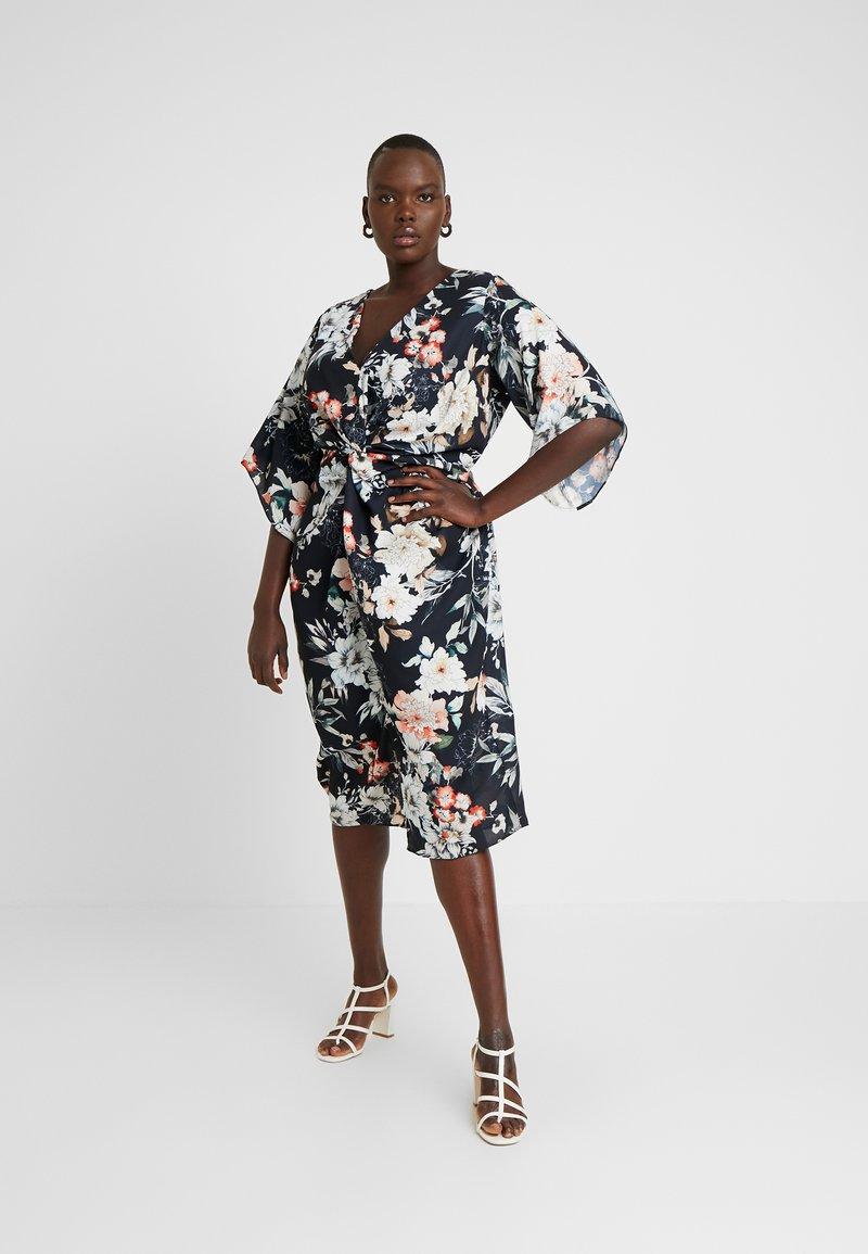 City Chic - EXCLUSIVE DRESS SEDUCTION - Robe d'été - multi-coloured
