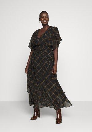 SCRATCH CHECK - Maxi šaty - black