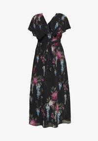 City Chic - FLORAL ALLURE - Maxi šaty - dark blue - 4