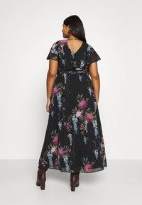 City Chic - FLORAL ALLURE - Maxi šaty - dark blue - 2