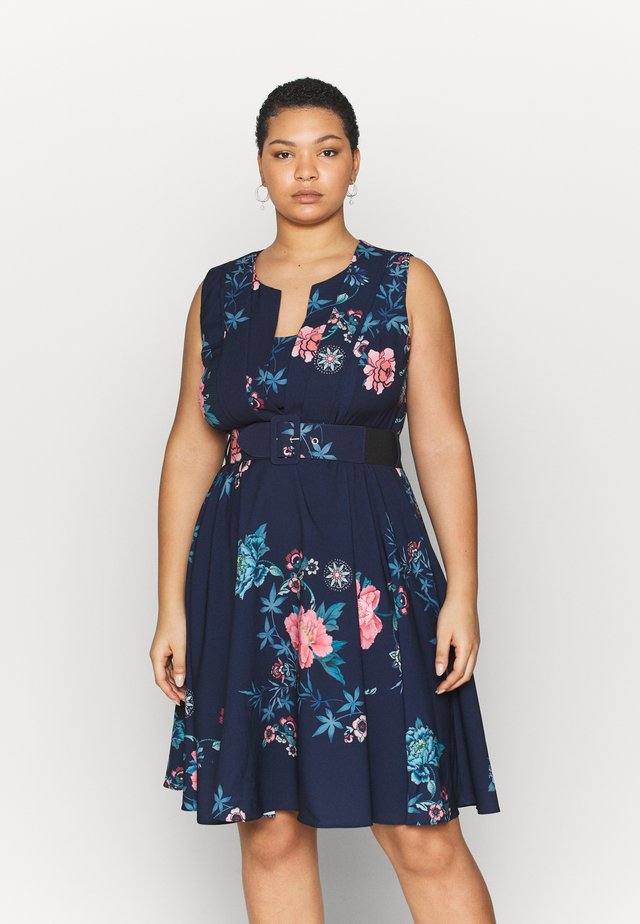 DRESS AIKA - Korte jurk - floral