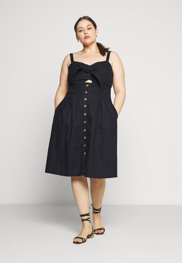 DRESS SWEETLY TIED - Korte jurk - navy