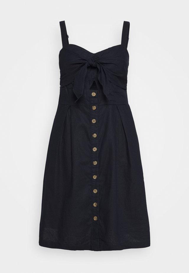 DRESS SWEETLY TIED - Denní šaty - navy