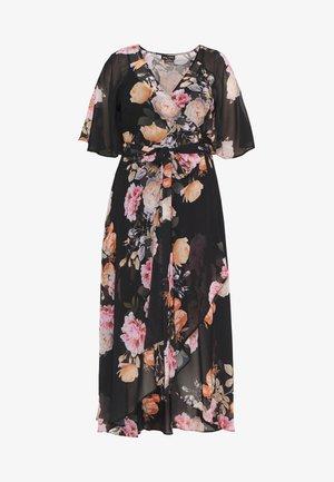MAXI WRAP - Maxi šaty - tuscan rose